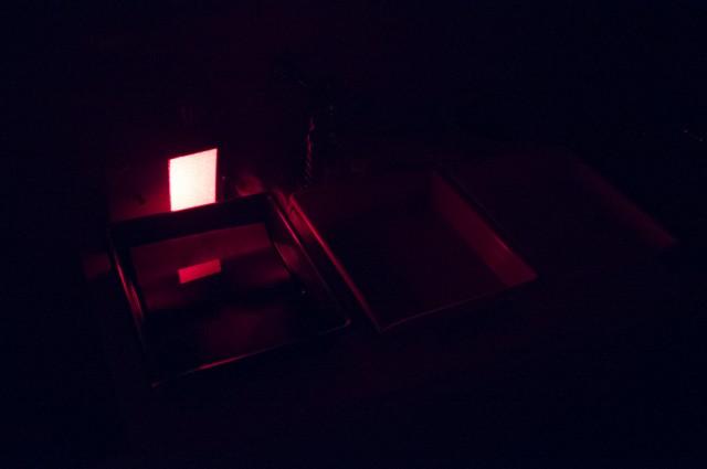 A folyamat vörös fényben...